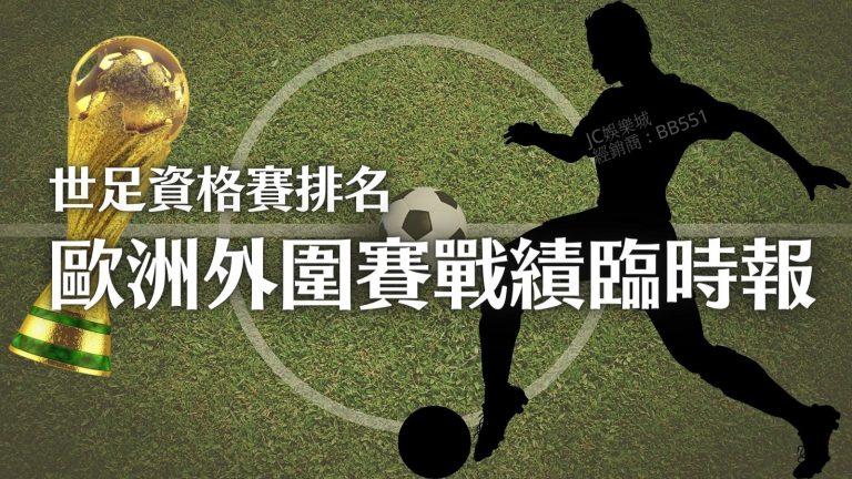 【世足資格賽歐洲賽程】最新資格賽排名!越南國足發威了嗎?